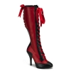 TEMPT-126 Red/Black Faux Leather